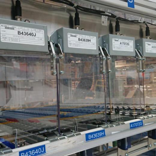 Isipick to Light®,IsiShutter®,Door modules for securing picking,ASI BUS,Poka Yoke