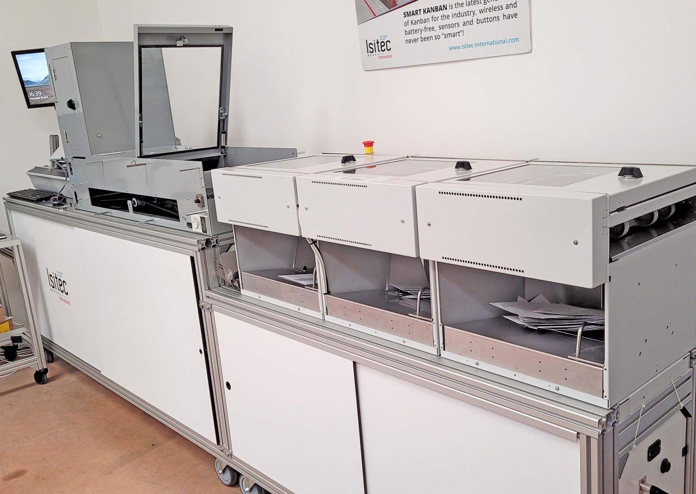 Isi12000 machine de tri du courrier